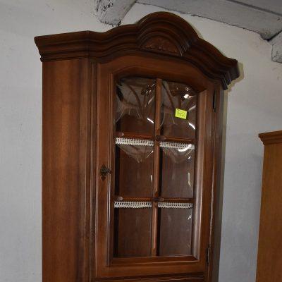 cena: 990 zł; boki: 62 cm x 62 cm; szer: 95 cm; gł: 50 cm; wys: 211 cm (wypukłe szyby)
