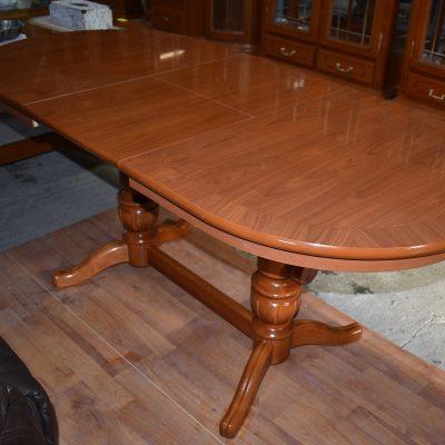 Ławostół cena: 420 zł; dł: 120 cm + 40 cm; szer: 75 cm; wys min: 57,5 cm; wys max: 70 cm