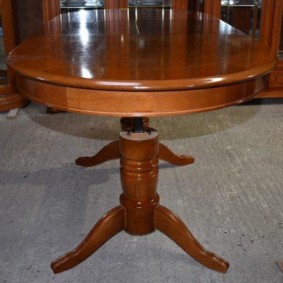 Ławostół cena: 630 zł; dł: 120 cm + 40 cm; szer: 75 cm; wys min: 61,5 cm; wys max: 79 cm