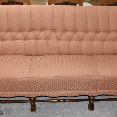 sofa 3-osobowa: dł: 200 cm; gł: 84 cm, wys całkowita: 88 cm; wys siedziska: 46 cm