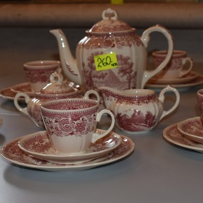 cena: 260 zł; 6-ścio osobowy zestaw kawowy firmy VILLEROY&BOCH ''Burgenland''. Stan bardzo dobry