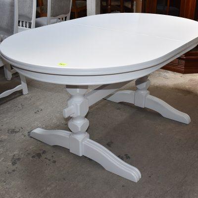 Stół rozkładany dł: 160 cm + 50 cm; szer: 100 cm; wys: 76 cm